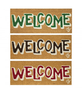 ENTRY - WELCOME BOLD...