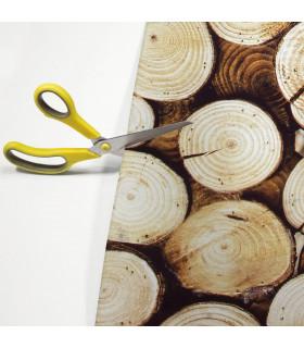 JOKE 4 - WOOD. Non-slip carpet and custom-made kitchen runner with print - detail