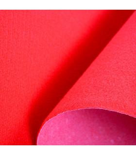 CHRISTMAS 2 metri - Passatoia Rosso Natale su misura per eventi e matrimonio, tappeto per cerimonie o negozi - particolare