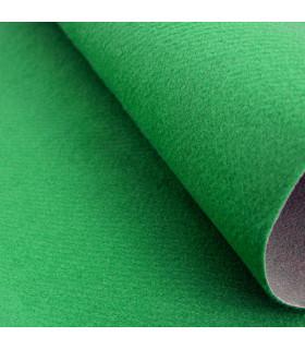 Passatoia Verde su misura ad effetto moquette per eventi e matrimonio, tappeto per cerimonie o negozi - dettaglio