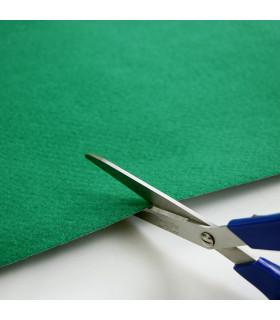 Passatoia Verde su misura ad effetto moquette per eventi e matrimonio, tappeto per cerimonie o negozi - particolare