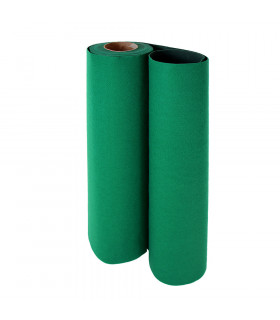 Custom-made green runner with carpet effect for events and weddings, carpet for ceremonies or shops - roll