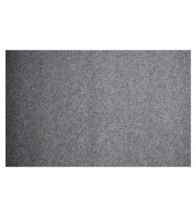 Custom-made gray runner with carpet effect for events and weddings, carpet for ceremonies or shops - steso