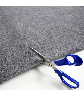 Custom-made gray runner with carpet effect for events and weddings, carpet for ceremonies or shops - cut