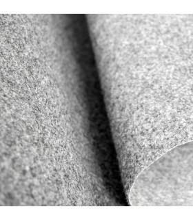Passatoia Grigia su misura ad effetto moquette per eventi e matrimonio, tappeto per cerimonie o negozi - dettaglio