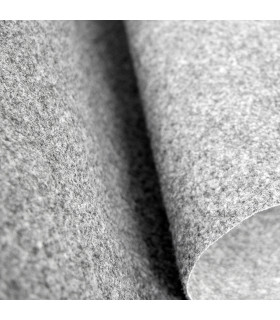 Custom-made gray runner with carpet effect for events and weddings, carpet for ceremonies or shops - detail