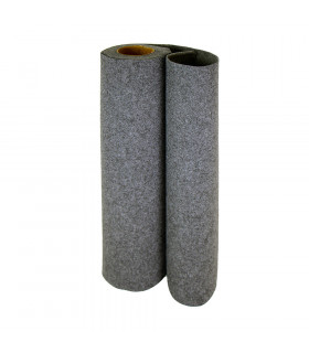 Custom-made gray runner with carpet effect for events and weddings, carpet for ceremonies or shops - roll