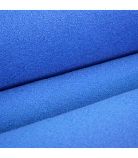Passatoia Blu su misura ad effetto moquette per eventi e matrimonio, tappeto per cerimonie o negozi - dettaglio
