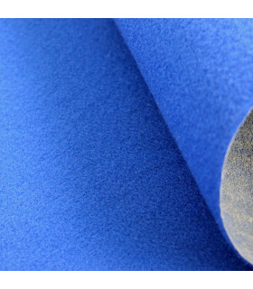 Custom-made blue runner with carpet effect for events and weddings, carpet for ceremonies or shops - particular