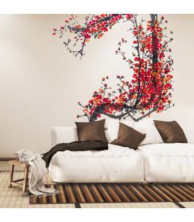 BAMBOO - Marrone, tappeto antiscivolo per la cucina, passatoia di bamboo effetto degradè - ambientata