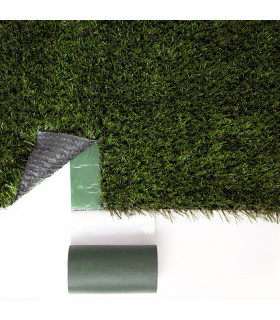 GREEN JOINT - Self-adhesive tape in non-woven fabric ideal for synthetic grass 0.15x5 m - example