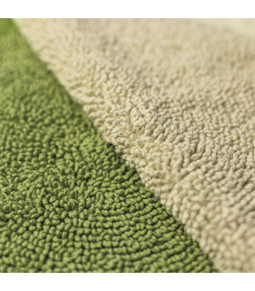SUN - Round bath mat in cotton and microfiber with non-slip bottom 75cm 7 colors details