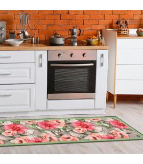 NEW SMILE Hawaii - Green variant kitchen carpet runner