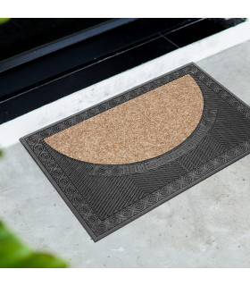 HOUSE - Sustainable PVC doormat with absorbent carpet insert
