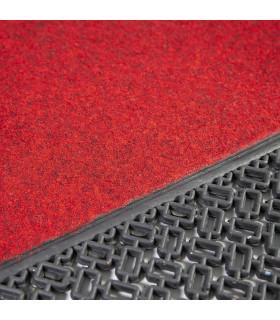 Detail of the Astro rubber doormat