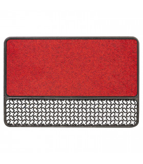 ASTRO red entrance doormat
