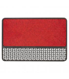 Tappeto zerbino rosso da esterno