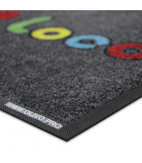 PROFESSIONAL doormat with excellent absorbency and resistant to UV rays and frequent foot traffic.