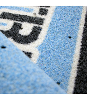 Detail of professional outdoor carpet