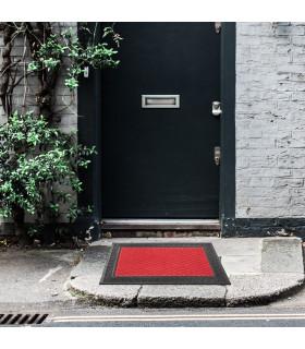 External entrance mat in rubber