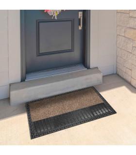 Rubber entrance mat doormat
