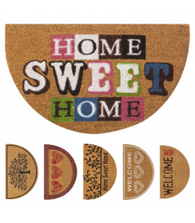 Doormat coconut crescent 6 designs