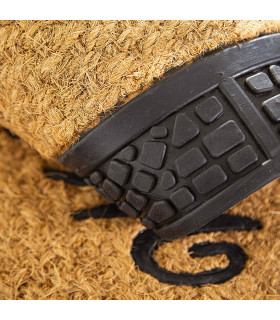 Coconut detail and Eden doormat rubber