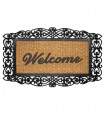 EDEN decor Doormat rug in engraved coconut and rubber for outdoor - 45x75cm, 4 variants