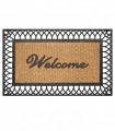 EDEN arco Doormat rug in engraved coconut and rubber for outdoor - 45x75cm, 4 variants
