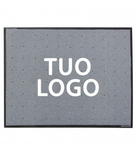 PROFESSIONAL outdoor clean-off doormat customized with logo