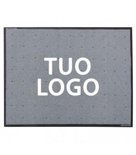 Zerbino asciugapassi da esterno PROFESSIONALE personalizzato con logo