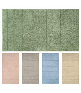 Tappeto bagno cotone 5 colori