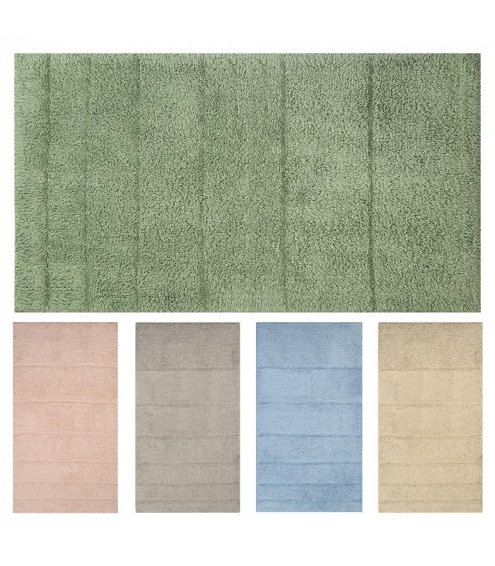 5 colors cotton bath mat