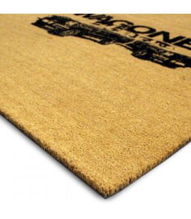 Personalized professional doormat 17mm thick