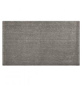 Tappeto da bagno morbida microfibra grigio scuro CORN