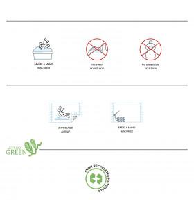Etichetta zerbino cocco naturale IMPERIALE