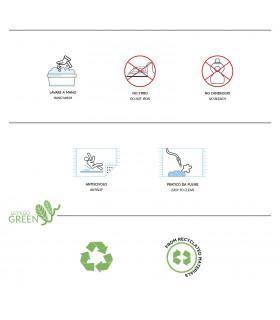 Etichetta prodotto zerbino Prato Verde